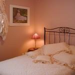 Chambre papillon rose