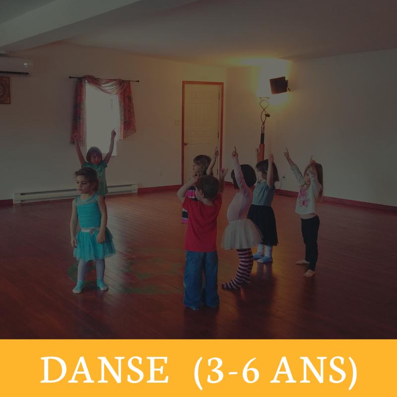Danse 3-6 ans